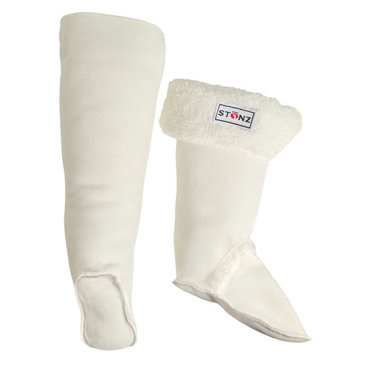 Rain Boots Liners, Ivory