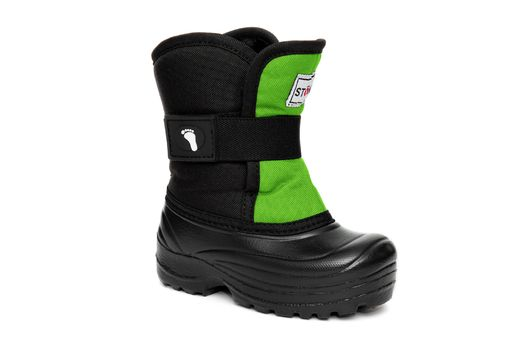 Winter Bootz	Lime/Black - Scout